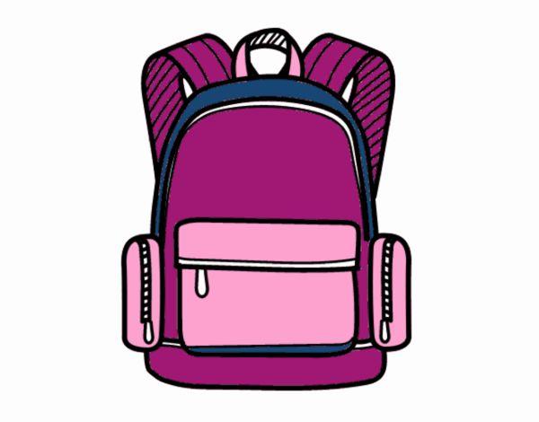 A school backpack