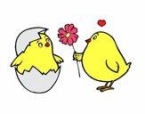 Chicks in love
