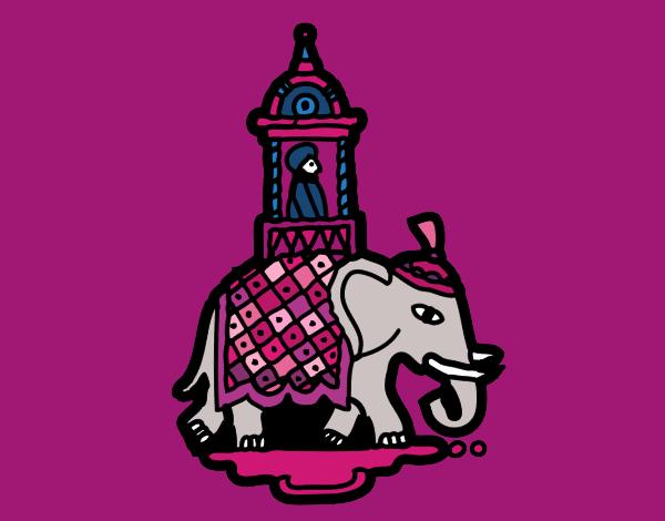 Taxi-elephant