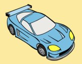 Coloring page Contemporary car painted byLornaAnia