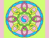 Coloring page Mandala 26 painted byLornaAnia