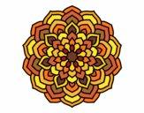 Mandala flower petals