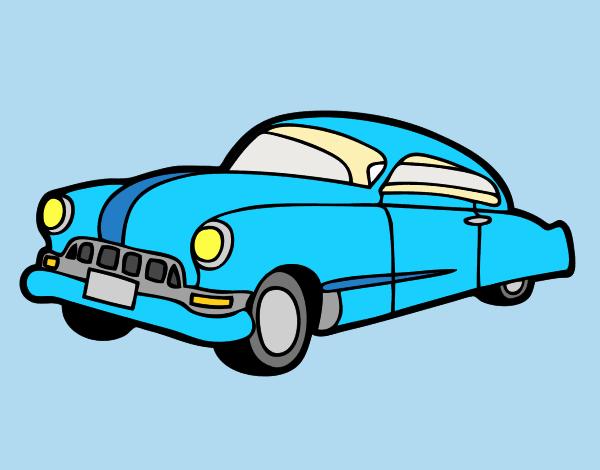 Oldster car
