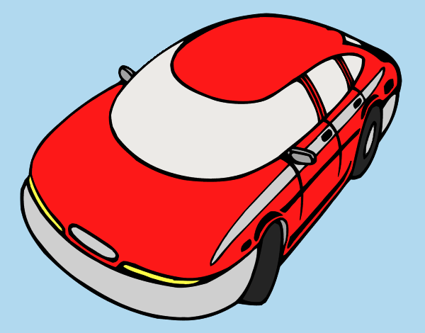 Speedy car colored by LornaAnia