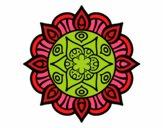 Mandala vegetal life