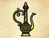 Coloring page Morroco Teapot  painted byLornaAnia