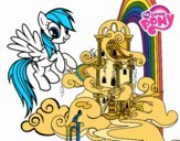 Rainbow Dash palace