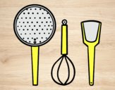 Coloring page The cookware painted byLornaAnia