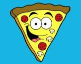 Hapyy pizza