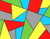 Coloring page Abstract drawing painted byLornaAnia