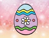 Daisy easter egg