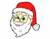 One Santa Claus face