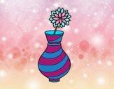 Chrysanthemum in a vase
