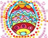 Easter egg for kids