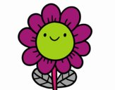 A smiling flower
