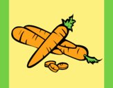 Coloring page Carrots II painted byLornaAnia