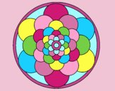 Coloring page Mandala 22 painted byLornaAnia