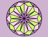 Coloring page Mandala 41 painted byLornaAnia