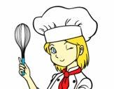 Girl-chef