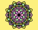 Coloring page Celtic mandala painted byLornaAnia