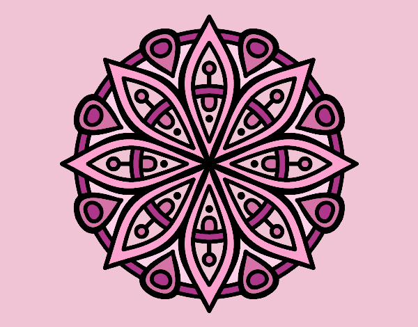 Mandala for the concentration