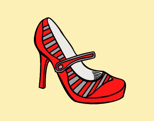 Sport heel shoes