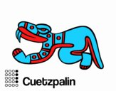The Aztecs days: the Lizard Cuetzpalin