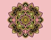 Coloring page Decorative mandala painted byLornaAnia