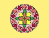 Coloring page Mandala 21 painted byLornaAnia