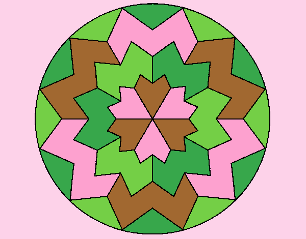Coloring page Mandala 29 painted byLornaAnia