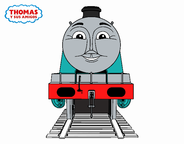 Thomas And Friends Coloring Book