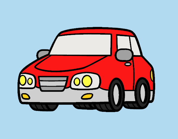 Coloring page An urban car painted byLornaAnia