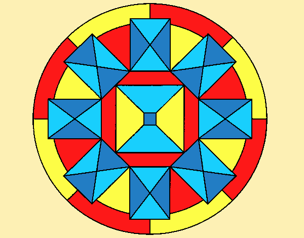 Coloring page Mandala 30 painted byLornaAnia