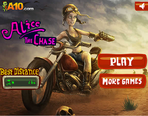 Alice, the adventurer motorcyclist
