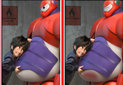 Differences Big Hero 6
