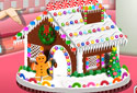 Play to Gingerbread house of the category Christmas games