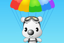 Play to Puppy in parachute of the category Ability games