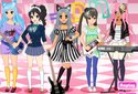 Play to Rock dress-up of the category Girl games