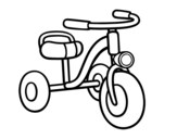 Dibujo de A children's tricycle