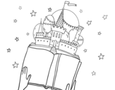 A fantastic tale coloring page