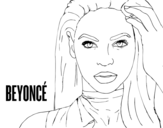 Beyonce I Am Sasha Fierce Coloring Page