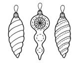 Draws of Christmas decorations