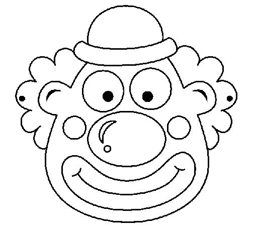 Clown coloring page - Coloringcrew.com