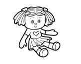 Doll Toy coloring page