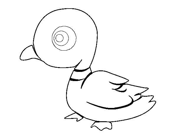 Duck River coloring page
