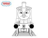 Edward from Thomas and friends coloring page