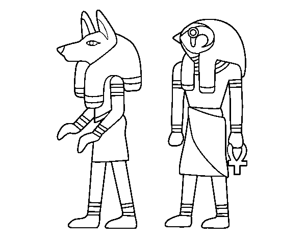 Egyptian Sphinx Coloring Page Coloringcrew Com