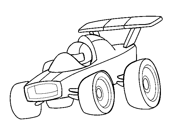 fast car coloring pages to print | Fast Car coloring page - Coloringcrew.com