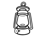 Gas light coloring page