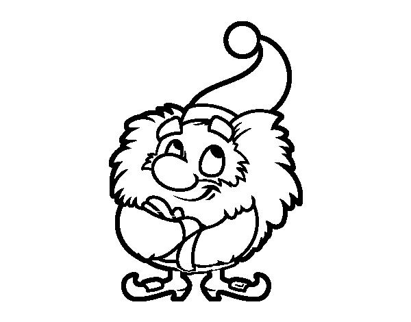 Little Santa Claus coloring page - Coloringcrew.com